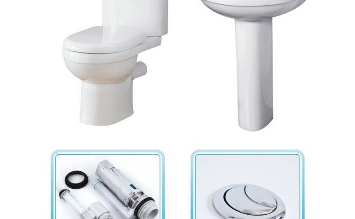 Orta Toilet Basin Set Cheap Suites