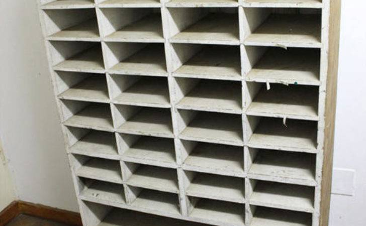 Other Home Living Real Wood Pigeon Hole Shelving