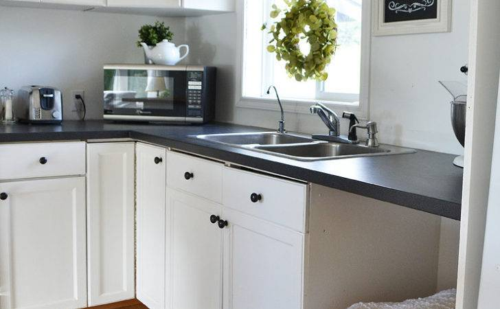 Our Guest Cottage Kitchen Budget Friendly Country