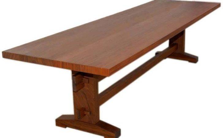 Outdoor Dining Table Style Weatherproof Solid Ipe