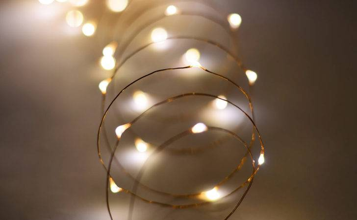 Outdoor Fairy Lights Battery Warm White Led