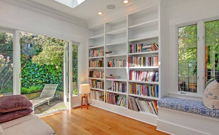 Outdoor Home Library Ideas