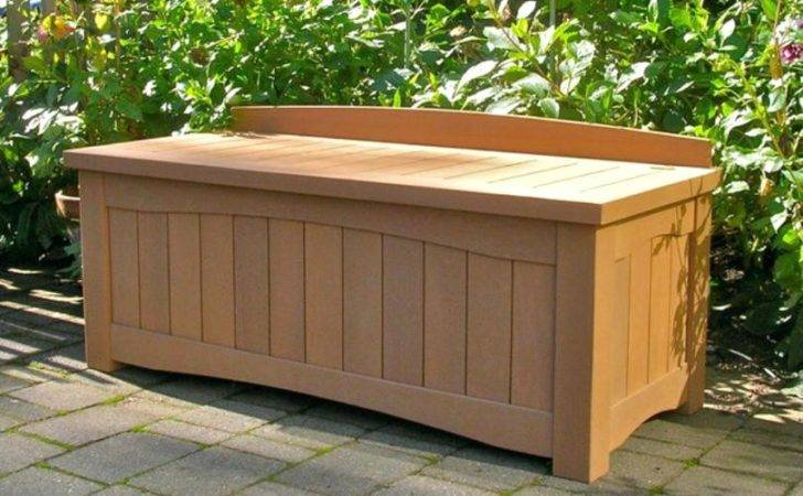 Outdoor Storage Bench Seat Amarillobrewing