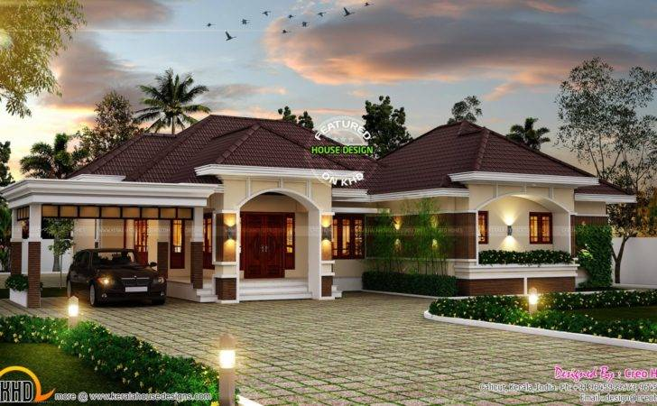 Outstanding Bungalow Kerala Home Design