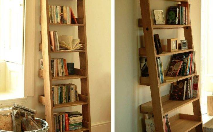 Outstanding Storage Ideas Ladder Shelving Unit