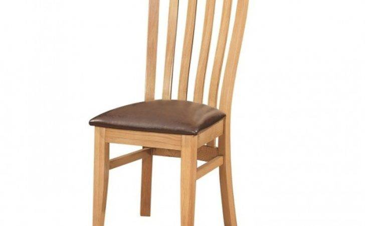 Oxford Contemporary Oak Dining Chair Furniture