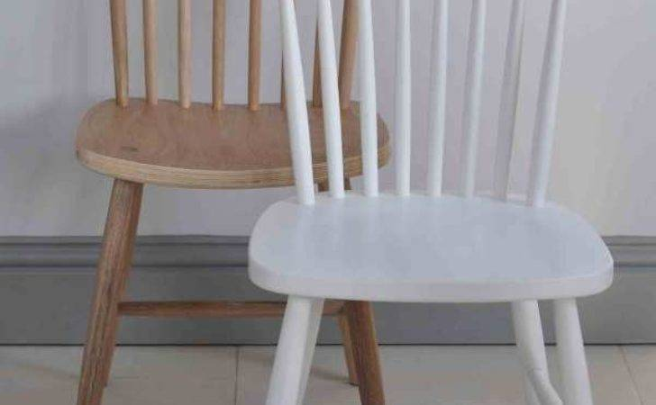 Oxford Spindle Back Dining Chair White Painted