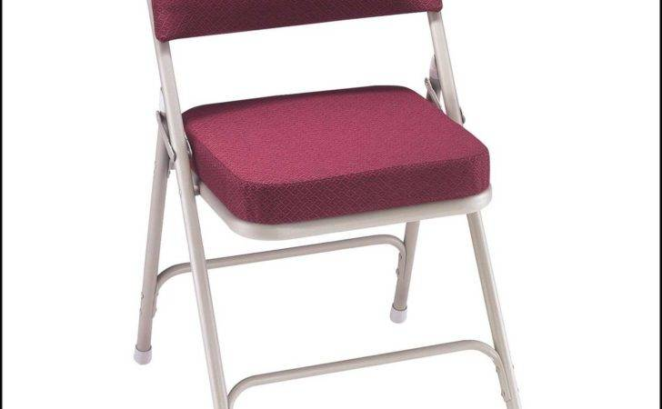 Padded Folding Chairs Chair Home Furniture Ideas