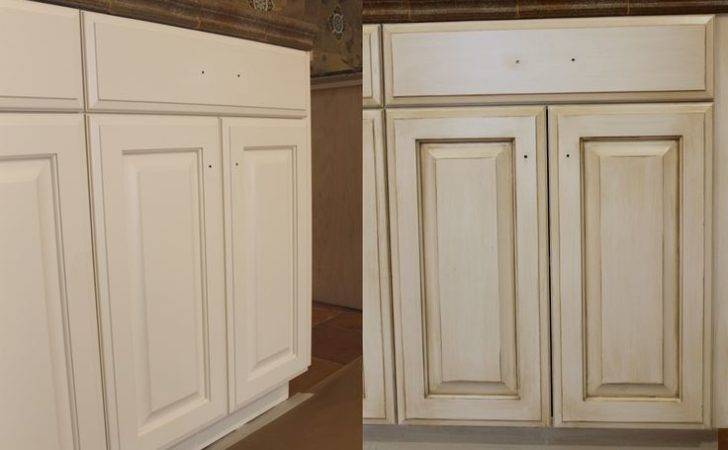 Paint Antique White Kitchen Cabinets Step