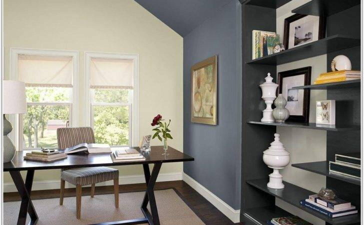 Paint Color Schemes Home Office Painting