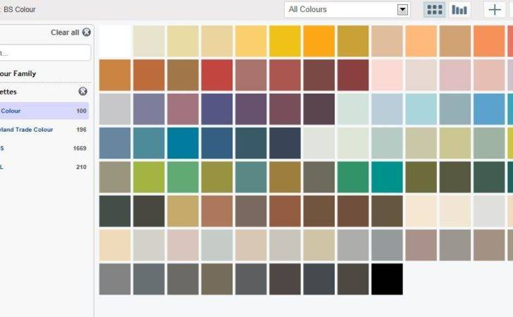 Paint Colours Available Tint Chart
