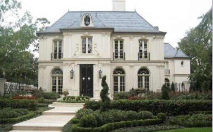 Painted Brick Exteriors French Style Home Exterior