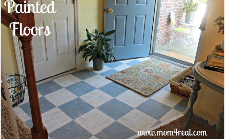 Painted Wood Floors Mom Real