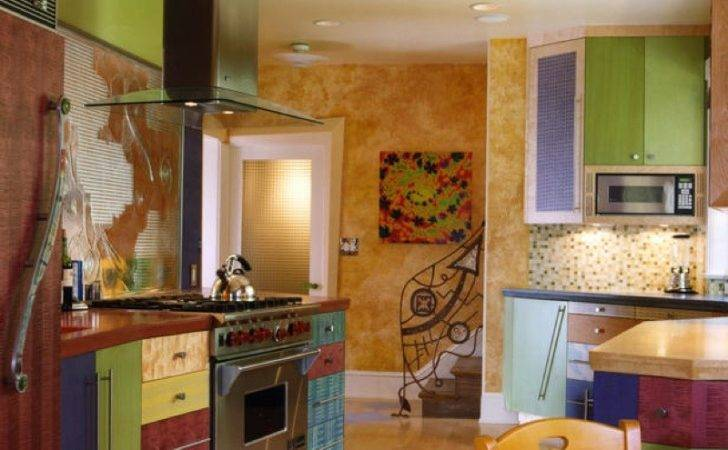 Painting Creative Color Ideas Kitchen Walls
