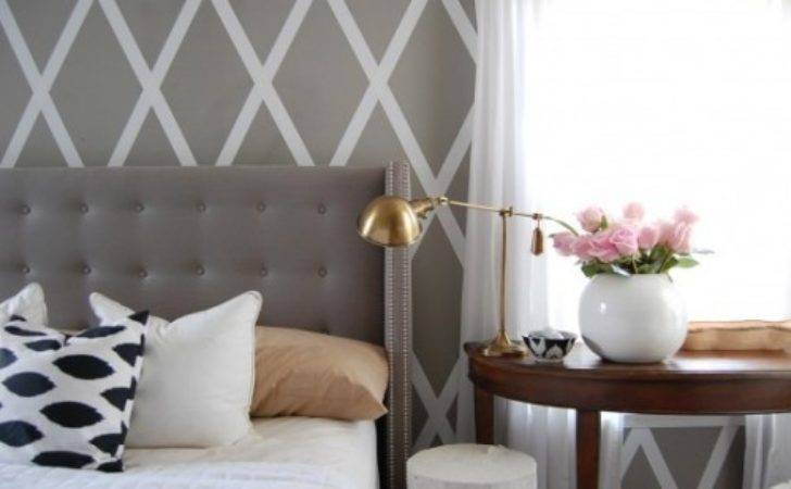 Painting Pattern Wall Rustic Crafts Chic Decor