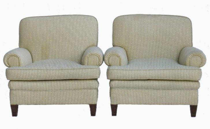 Pair French Art Deco Armchairs