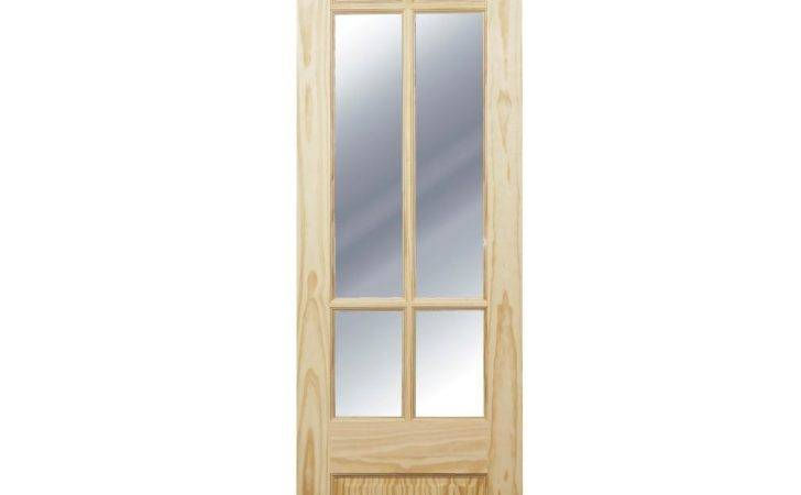 Pair Interior Part Glazed French Doors Fitting Kit