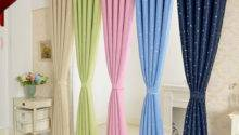 Pair Star Type Ring Top Eyelet Ready Made Curtains Ebay