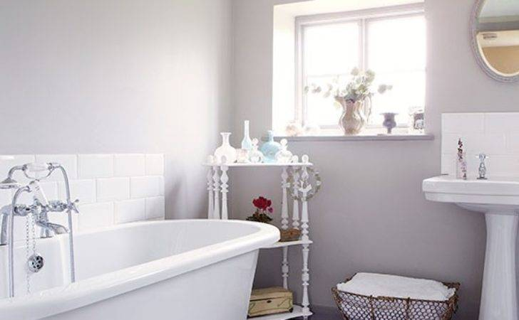Pale Grey Bathroom Decorate Neutrals