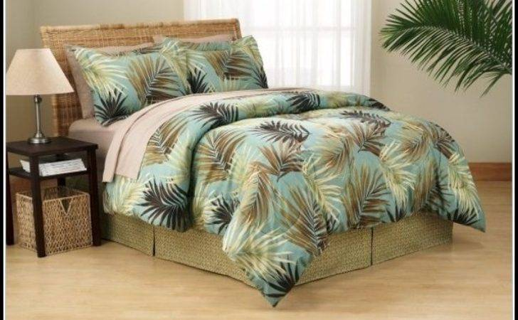 Palm Tree Bedding Bedroom Home Decorating