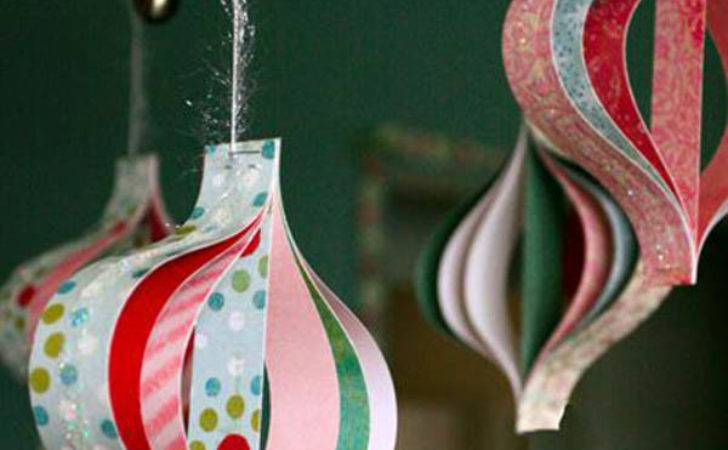 Paper Christmas Decoration Ideas Love Feed