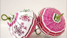 Paper Christmas Ornaments Photos
