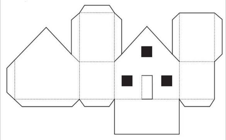 Paper House Template Pdf Documents