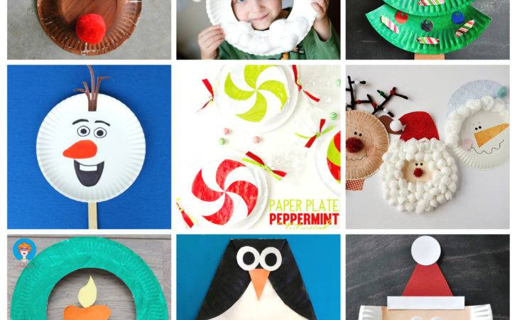 Paper Plate Christmas Crafts Create