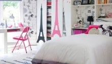 Paris Theme Girl Bedroom Teenage Girls Ideas