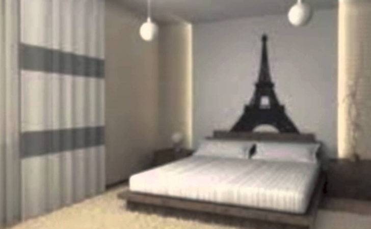 Paris Themed Bedroom Cheap Makeover
