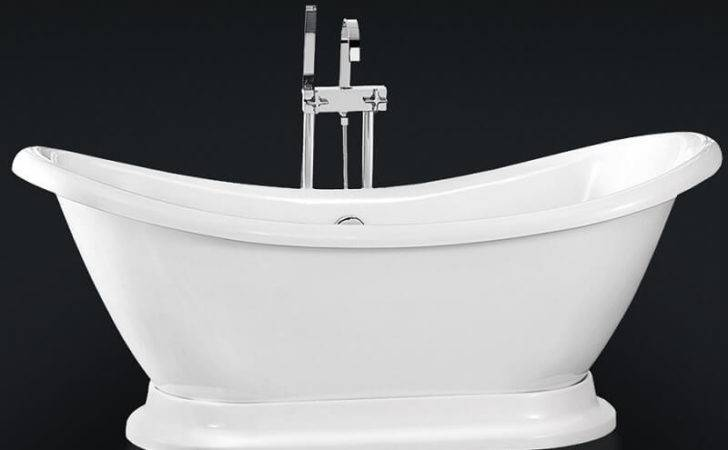 Park Lane Freestanding Luxury Double Ended Roll Top Bath