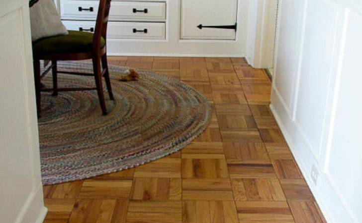 Parquet Flooring Ranch House Yes Authentic