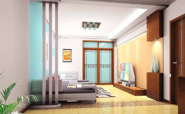 Partition Design Ideas Minimalist Living Room