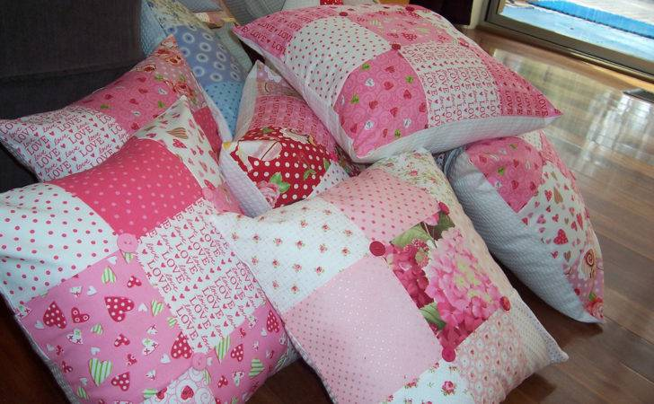 Patchwork Cushions Made
