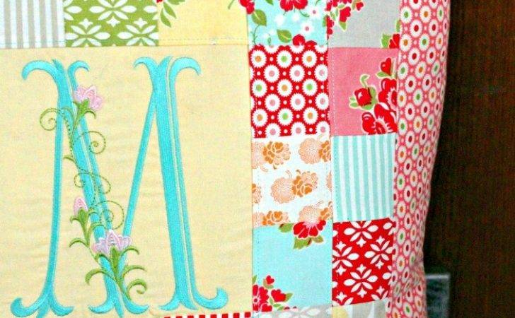 Patchwork Pillow Pattern Tutorial Cottage Mama