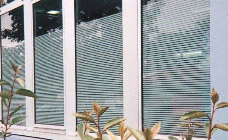 Patterned Decorative White Frosted Window Film Glass