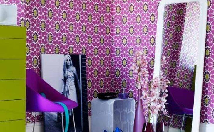 Patterned Teenage Girls Bedroom Ideas