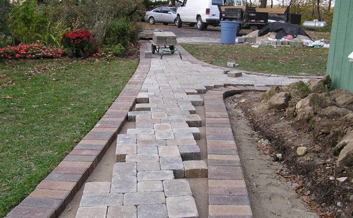 Paver Walkway Fros Carpentry