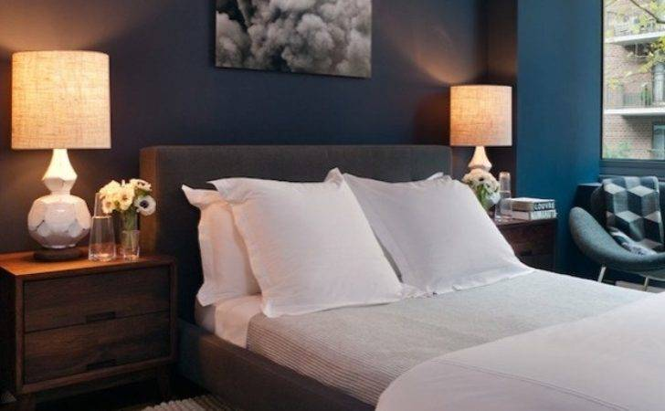 Peacock Blue Bedroom Walls Design Ideas
