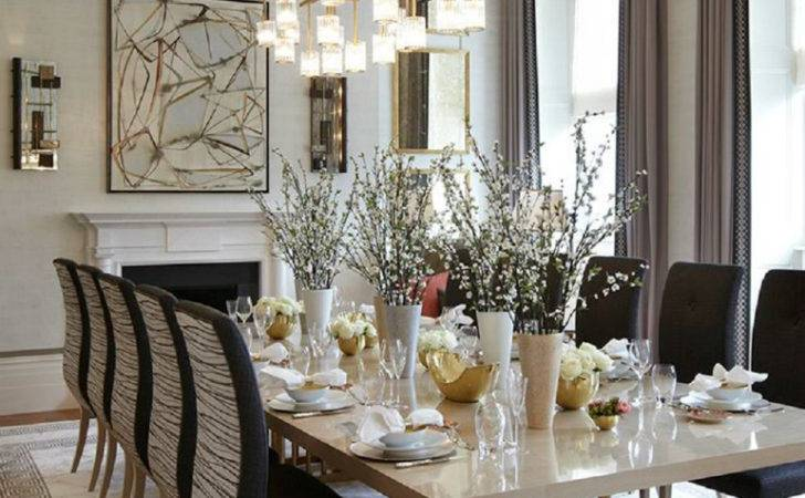 Perfect Dining Table Elegant Room