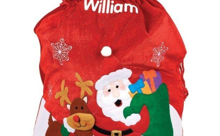 Personalise Your Christmas Sacks Stockings