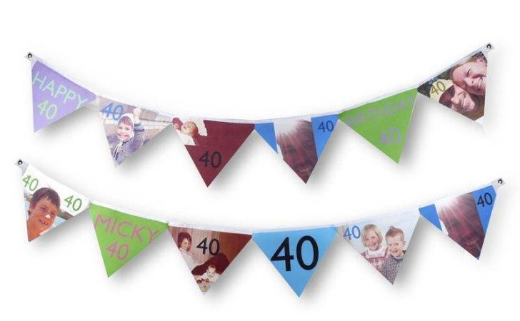 Personalised Bunting Letters Photos Custom