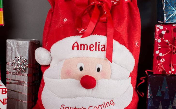 Personalised Christmas Santa Sack Gettingpersonal