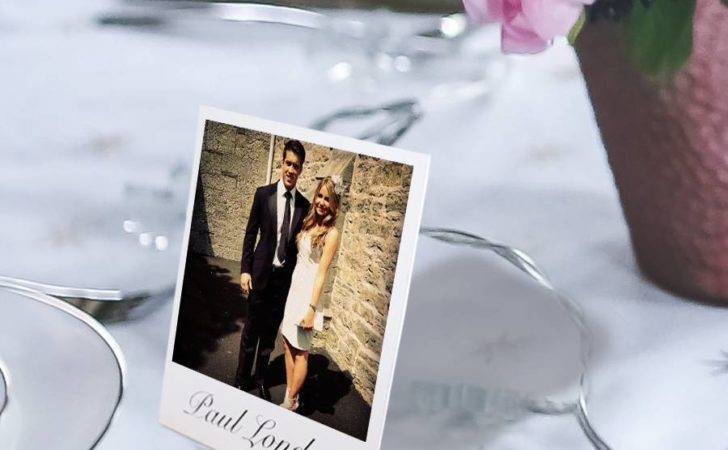 Personalised Mini Stand Place Setting Cards