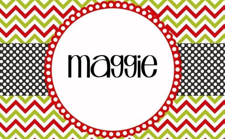 Personalized Christmas Placemats Printable