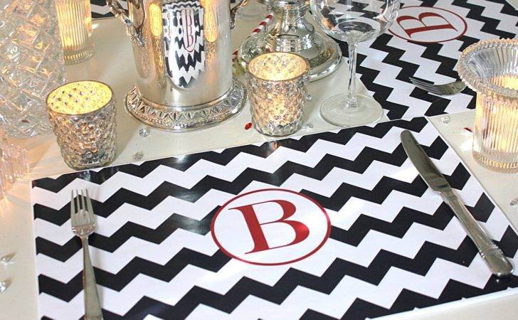 Personalized Paper Placemat Set Setpaper Tipgifts