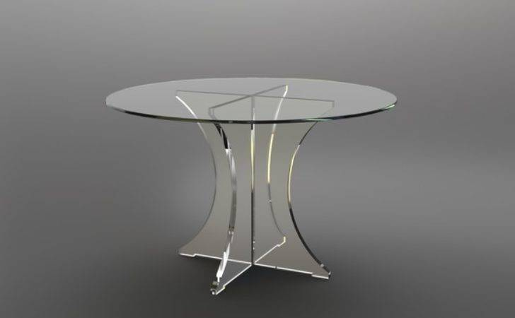 Perspex Acrylic Lucite Tables Contemporary Dining