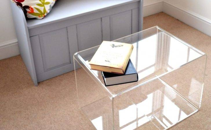 Perspex Coffee Table Acrylic Home Acessories