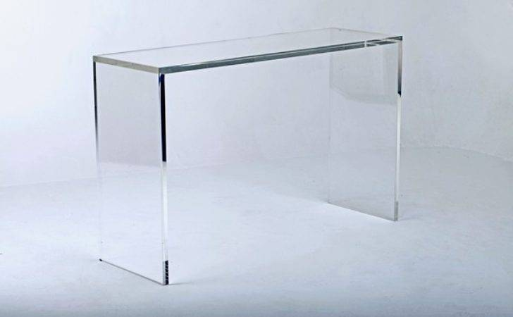 Perspex Console Table Tables Furniture