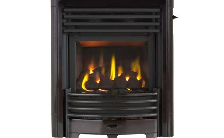Petrus Homeflame Depth Gas Fire Black